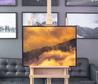 Colorful clouds photography prints – Framed Canvas