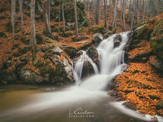 Waterfall print landscape photography