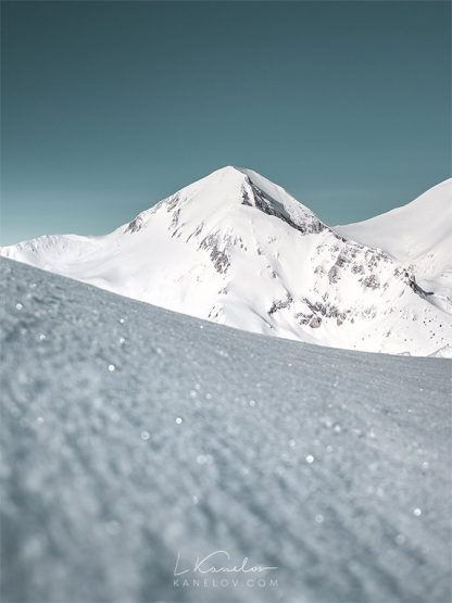 Snow peak landscape