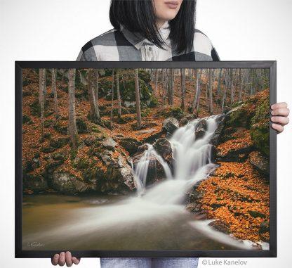 Waterfall print landscape photography