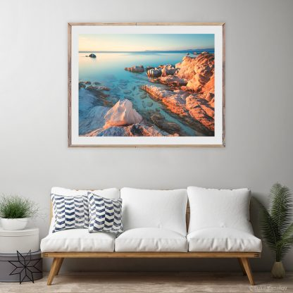 Beach Sunset Print