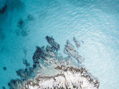 Aerial Ocean print