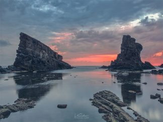 Sunrise Clouds Ocean