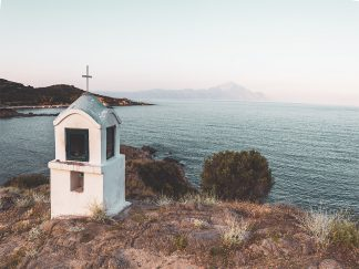 Chapel on a Beach
