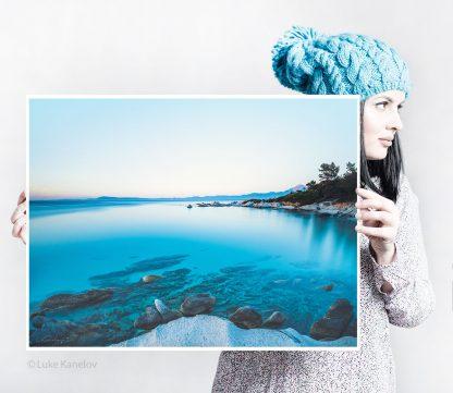 Blue Ocean Seascape