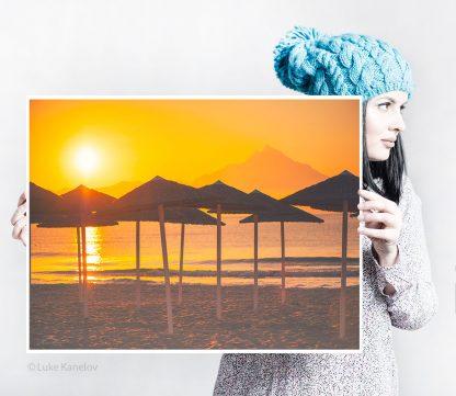 Beach Sunrise Print