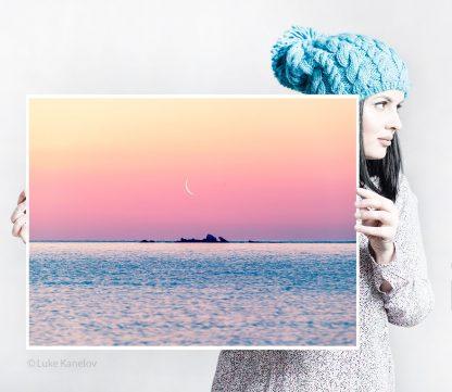 Sunrise Sea Print