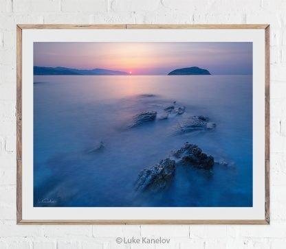 Sunrise Ocean Print