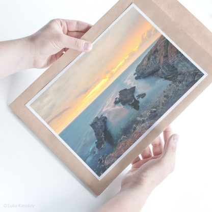 Sunset Beach Print